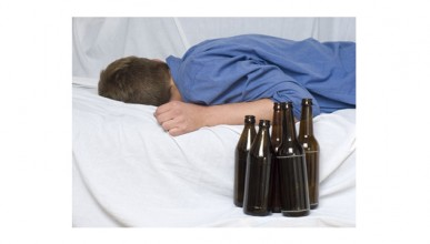 schnarchen-Alkohol